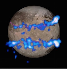 Aurorae on Ganymede