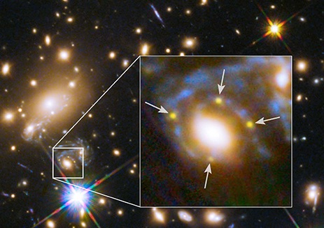 Gravitationally Lensed Supernova